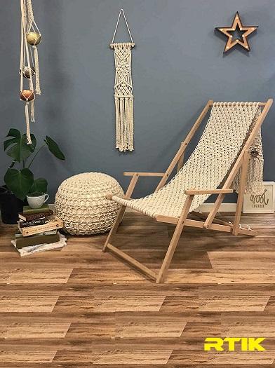 صندلی راحتی مکرومه بافی